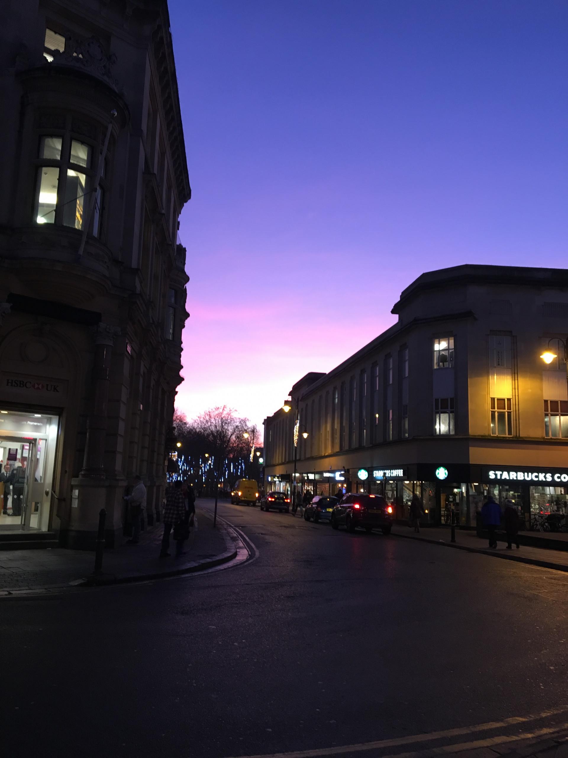 Cheltenham sunset